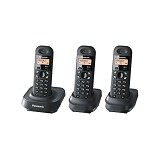 PANASONIC Cordless Phone [KX-TG1313] - Black - Wireless Phone